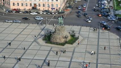 Sofia square, Kiev.