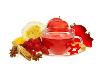Tee Himbeere - raspberry tea 06