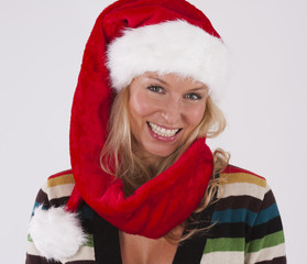 Young mrs Santa Clause