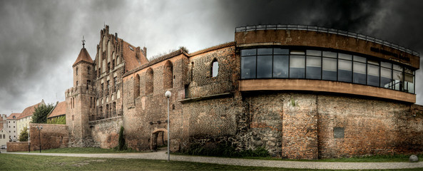 Zamek zabytkowy w Toruniu