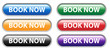 """BOOK NOW"" Web Button (e-bookings order online internet tickets)"