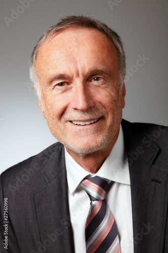 portrait of senior business man