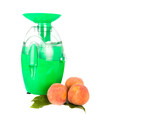 juicing machine isolated on the white background