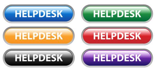 HELPDESK Web Buttons Set (customer service hotline support help)