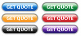 GET QUOTE Web Buttons Set (quotation price free online sales) poster