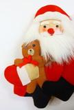 Santa Claus a jeho plnené medvedík