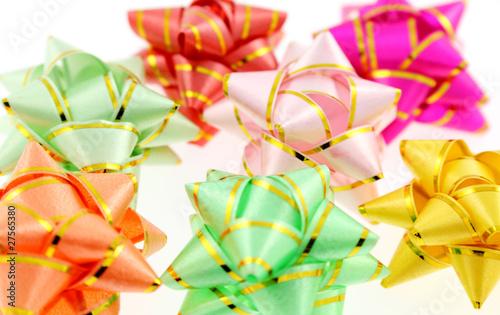 noeuds bolduc décoration cadeaux