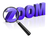 zoom focus and  magnify detective search