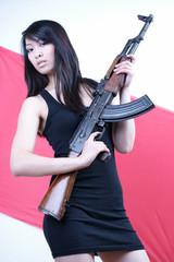 Chinesische Mafia Gangsterbraut