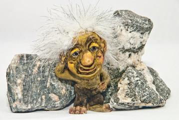 Troll Next to stones