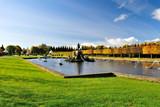 Regular Upper Park of Peterhof , St.Petersburg poster