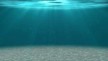 HD - Deep water. Underwater background