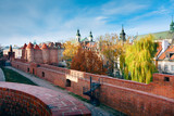 Fototapety Fortified medieval outpost - Warsaw barbican