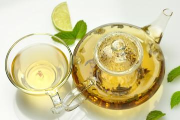 green tea set