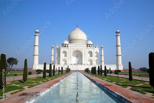 Leinwandbild Motiv Taj Mahal