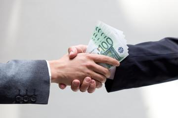 Bribe concept