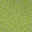 Leinwanddruck Bild - 3d graphical render of green mosaic wall