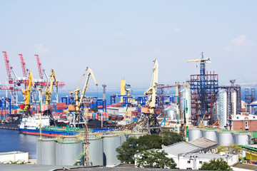 marine industrial port