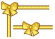 goldene Schleifen