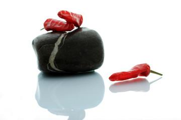 Chili und Stein