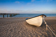 Fototapeten,boot,ostsee,küste,stranden