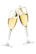 Cheers! Two champagne glasses - 27593146