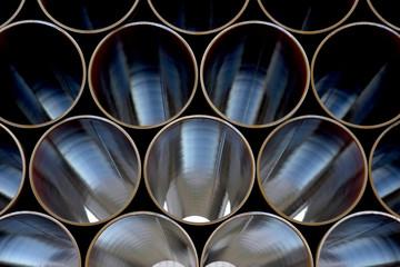 Stahlrohre für eine Pipeline