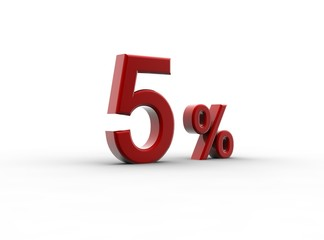 Red 5 percentage
