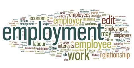 Employment Word Cloud