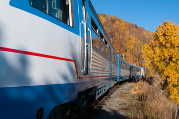The Circum-Baikal Railway - historical railway along Lake baikal