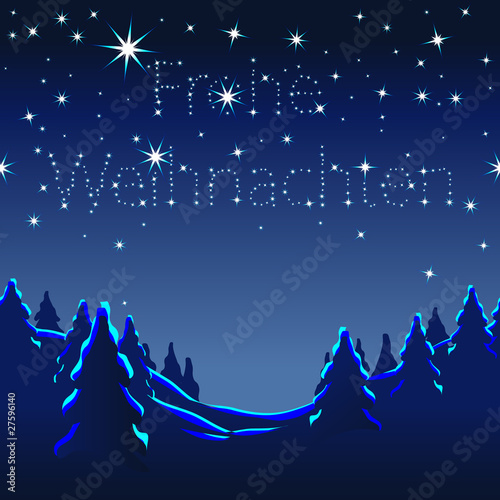 Frohe Weihnachten, Weihnachtskarte, Muster, endlos