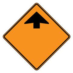 Directonal arrow sign