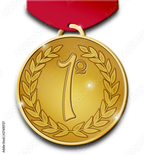 ganador de medalla: