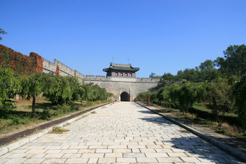 the great wall scenery