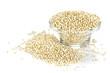 Quinoa grain in bowl