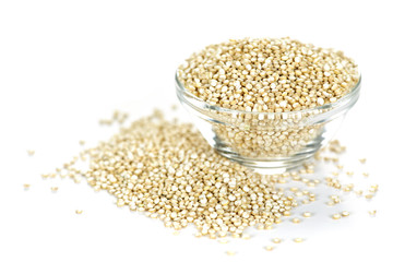 Quinoa grain in bowl