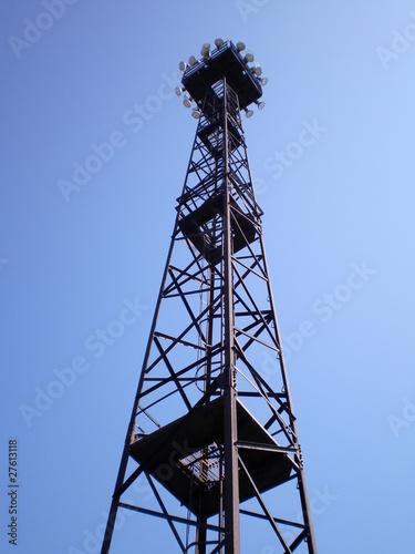 Beleuchtungs - Turm