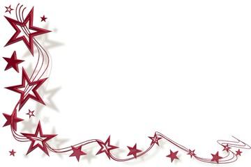 Weihnachtssterne Rot 01