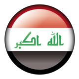 iraq flag button