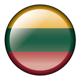 lithuania flag button