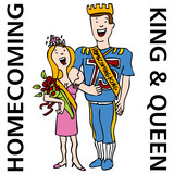 Homecoming King and Queen poster