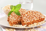 Puffed rice treats