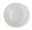 Empty white dinner plate