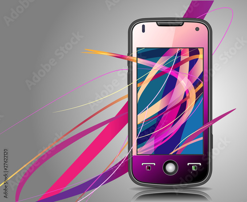 Smartphone. Vector  illustration