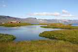Iceland - lake at Snaefellsnes peninsula poster