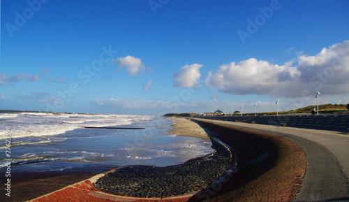 Leinwanddruck Bild Norderney Nordstrand