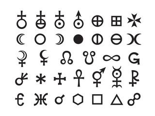 Mystique Symbols set III