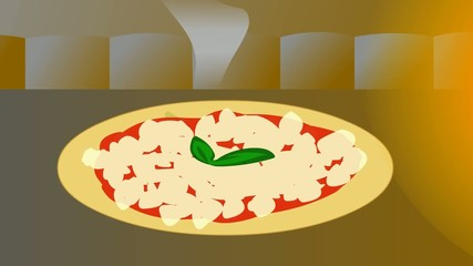 pizza margherita loop