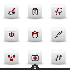 Medical web icons from series..no.2