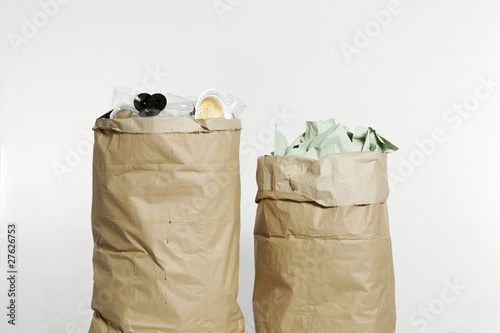 Two sacks of rubbish